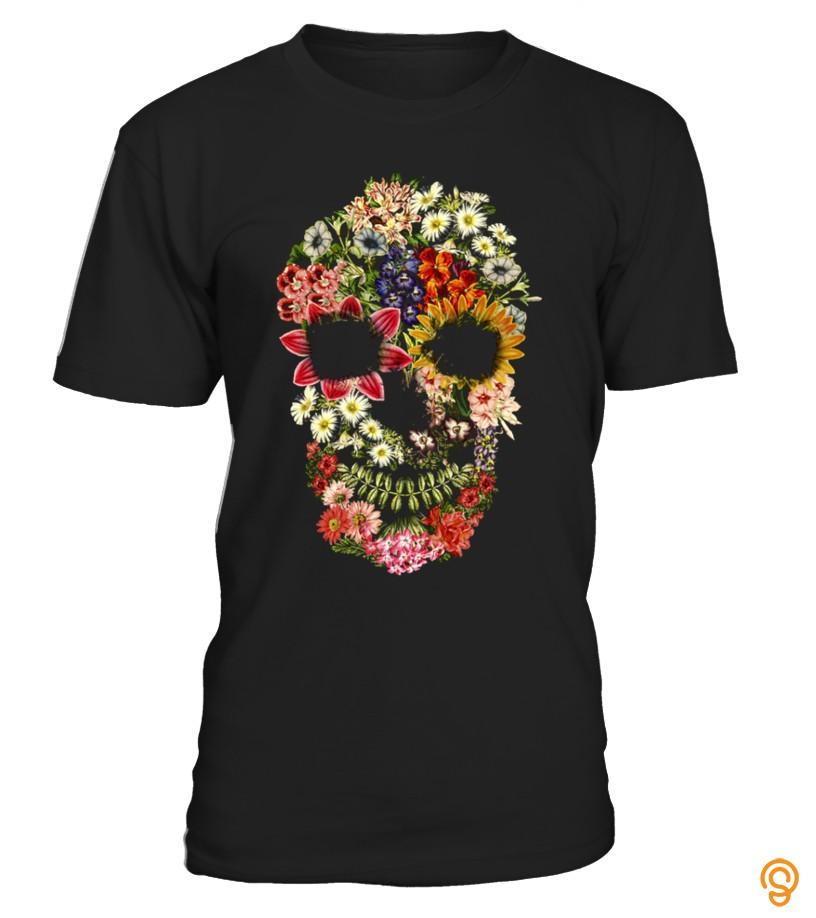 drapey-floral-skull-vintage-tee-shirts-target