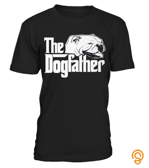 Bulldog T Shirt Design   The Dogfather