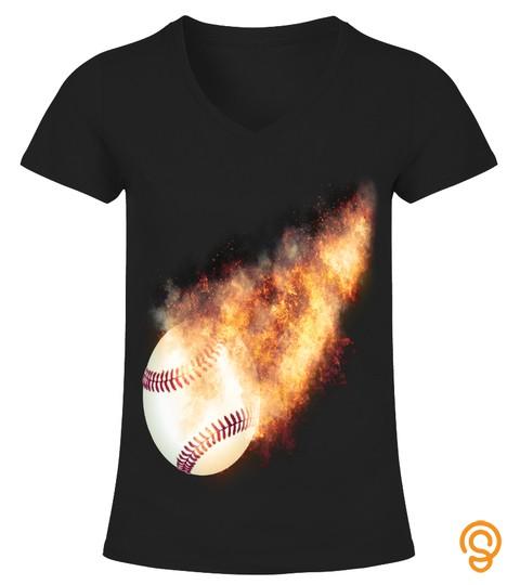 Baseball Flames