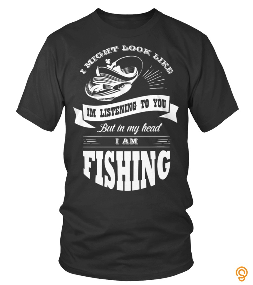 Detailing Limited Edition I'M FISHING Tee Shirts Clothing Brand