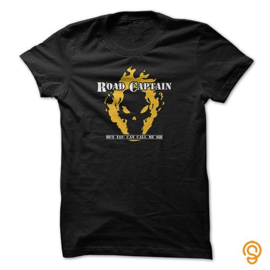 Semi-formal Road Captain biker teeshirt Tee Shirts Graphic