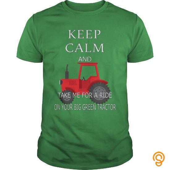 stylish-tractor-take-me-for-a-ride-on-your-big-green-tractor-tee-shirts-review