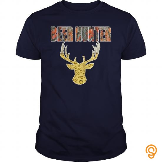 Half-priced Beer Hunter 2015 Edition   Men's T Shirt T Shirts Material