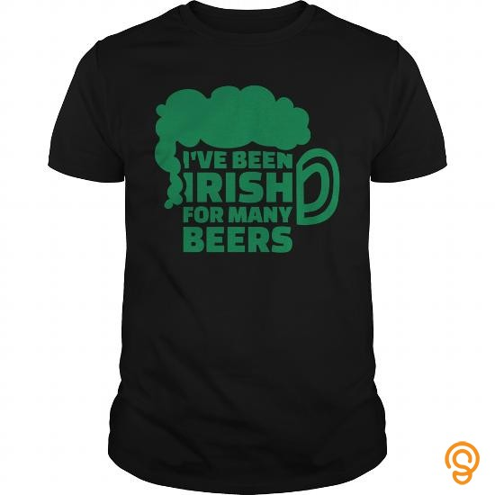 Plush I've been Irish for many beers Kids' Shirts   Kids' Premium T Shirt Tee Shirts Graphic