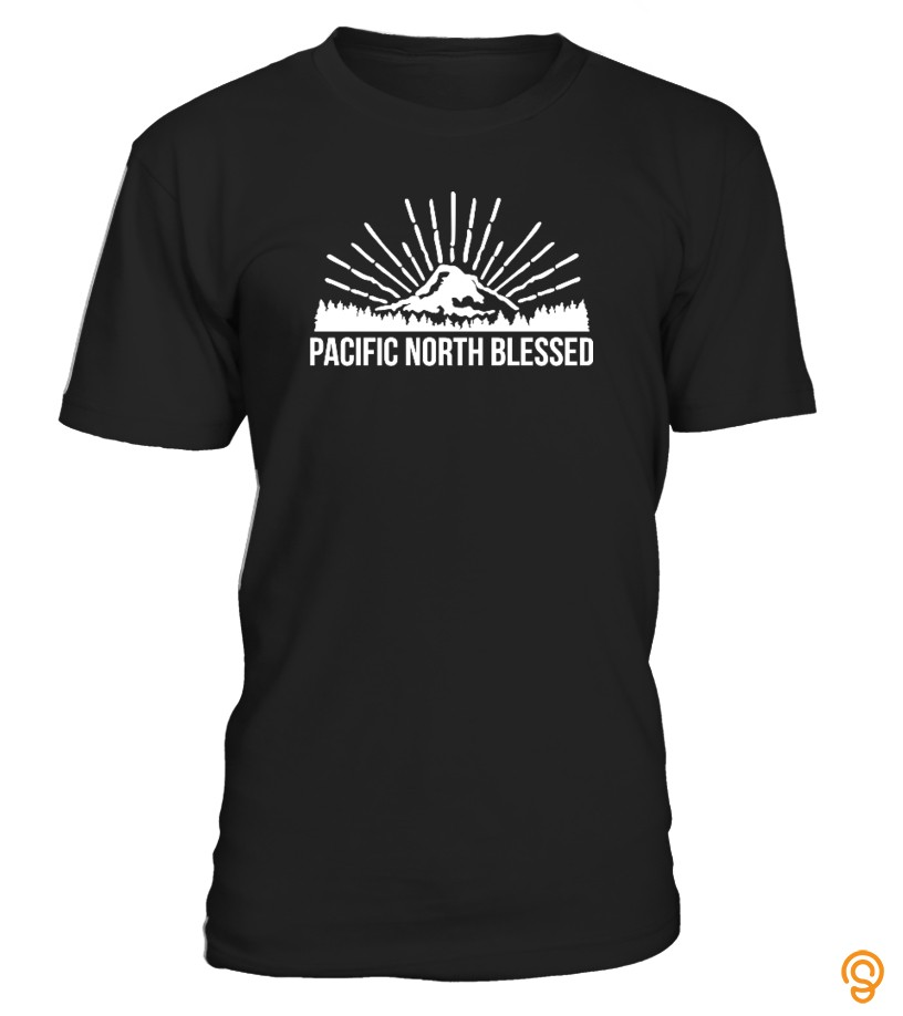 Order Now Pacific North Blessed Tee Shirts Size Xxl