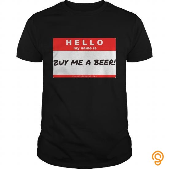 Easy Wear Buy Me A Beer Name Tag Men's Hooded Sweatshirt    Men's Hoodie T Shirts Wholesale