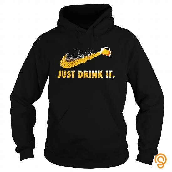 Comfy Beer Just Drink It T Shirts Wholesale