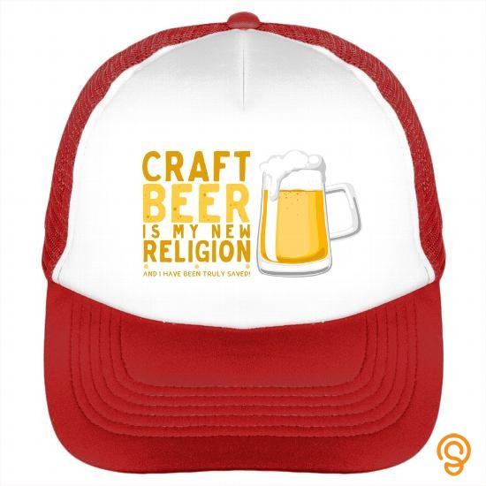 Sale Craft Beer Is My New Religion Cap T Shirts Sayings