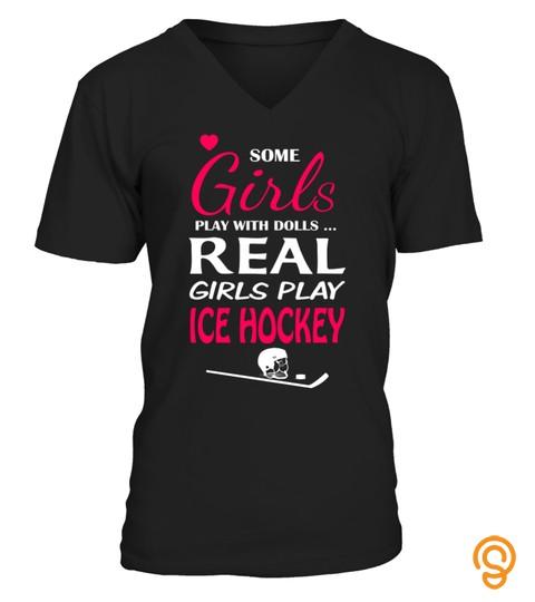 Real Girls Love Ice Hockey