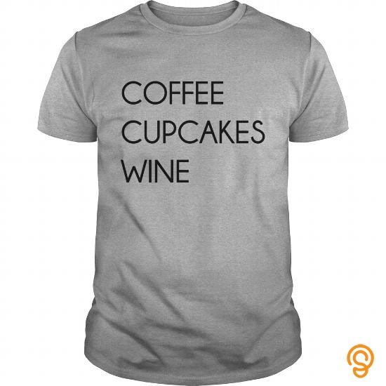 Intricate Coffee Cupcakes Wine Women's T Shirts   Women's T Shirt T Shirts Graphic