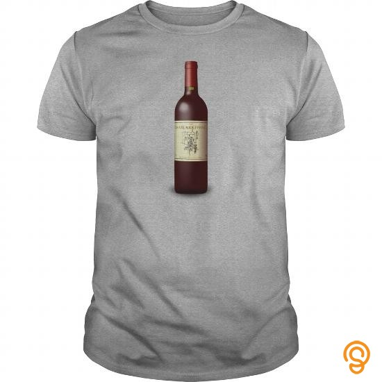 Overall Fit French Wine Bordeaux Bott   Men's Premium T Shirt Tee Shirts Buy Now