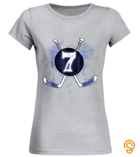 Ice Hockey Tshirt 7 Years Old