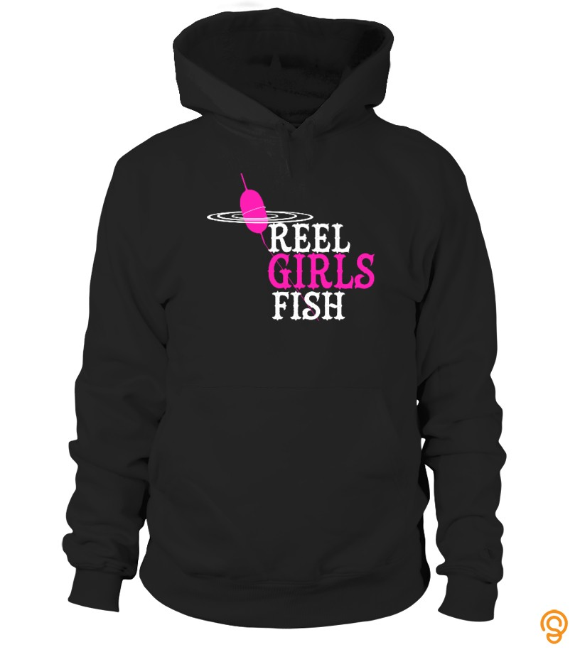 Personal Style Reel Girls Fish  tshirt T Shirts Saying Ideas
