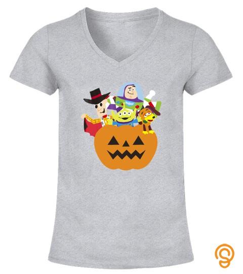 Halloween Pumpkin Graphic T Shirt