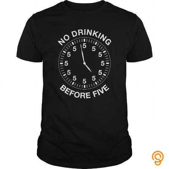 fabric-no-drinking-before-five-t-shirts-review
