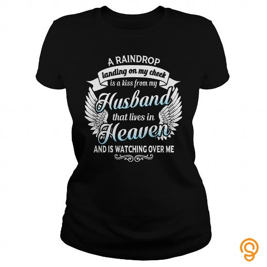 efficient-husband-lives-in-heaven-tee-shirts-printing