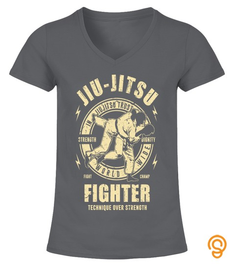 Jiu Jitsu Fighter T Shirts