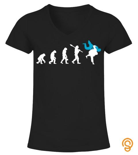 Brazilian Jiu Jitsu Bjj Evolution Judo Throw Tee Gift T Shirt