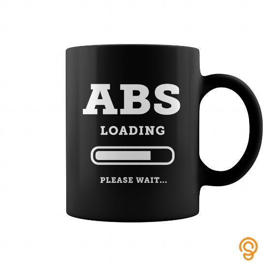 Chic ABS Loading Please Wait coffee mug T Shirts Gift