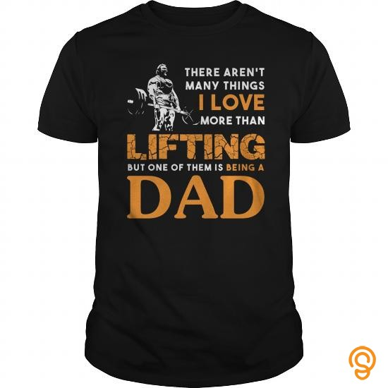 In Style Lifting Dad T Shirts Review