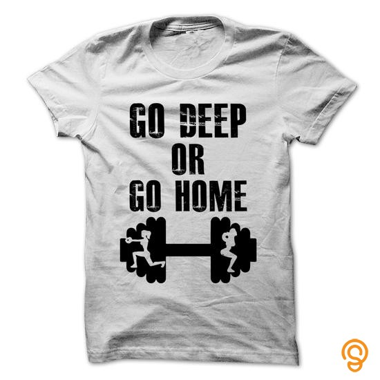 casual-go-deep-or-go-home-tee-shirts-review