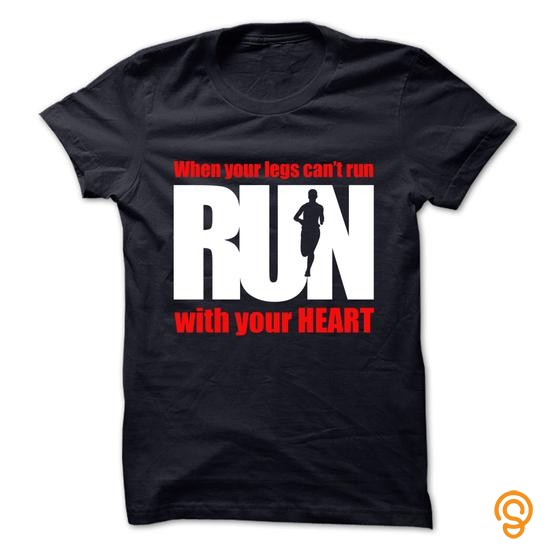 classic-run-with-your-heart-tee-shirts-sale