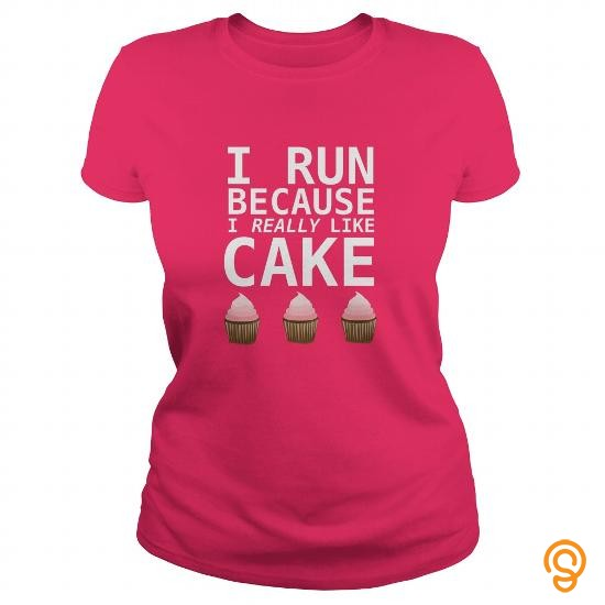 essential-i-run-becouse-i-really-like-cake-funny-running-design-tee-shirts-gift