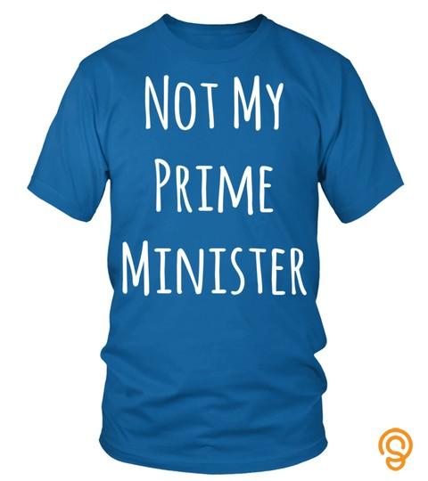 Not My Prime Minster   Anti Boris Johnson Brexit Sweatshirt