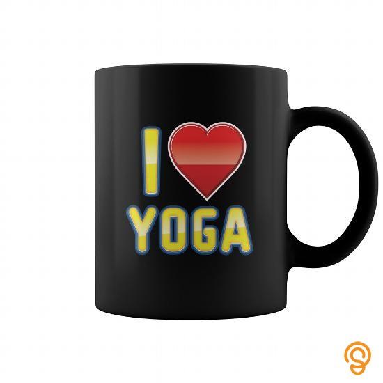 popular-yoga-mug-i-love-yoga-yellow-text-t-shirts-clothes