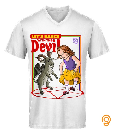 Let's Dance With The Devil Satanic Baphomet Game Tank Top