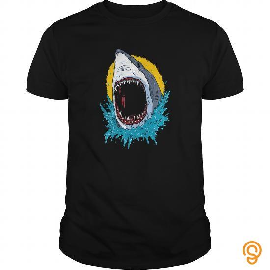 adorable-wild-shark-t-shirts-design