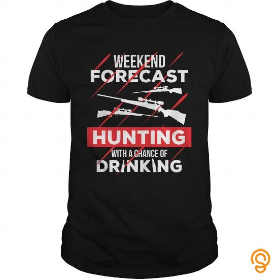closet-weekend-forecast-hunting-with-a-chance-of-drinking-t-shirts-review