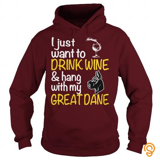 cheap-drink-wine-with-great-dane-t-shirts-clothing-brand