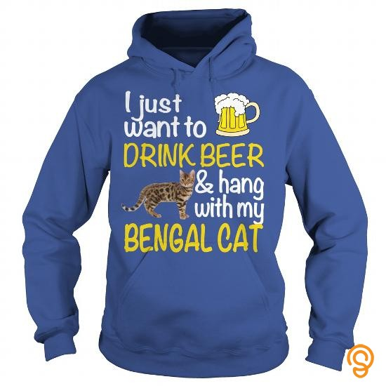 relaxed-drink-beer-with-my-bengal-cat-t-shirts-for-adults