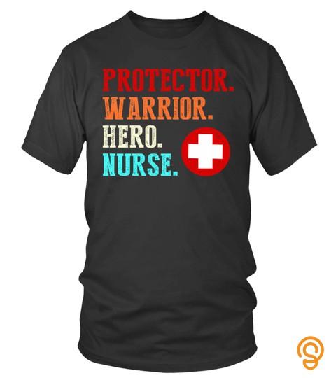Protector warrior hero nurse Shirt