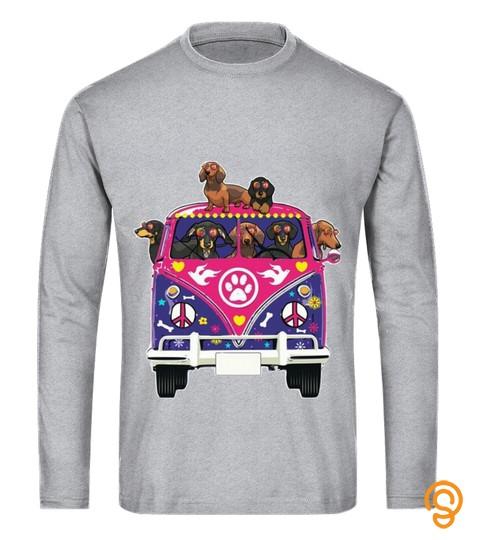 Dachshund Peace T Shirt
