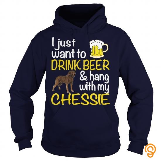 easy-wear-drink-beer-with-my-chessie-tee-shirts-clothes
