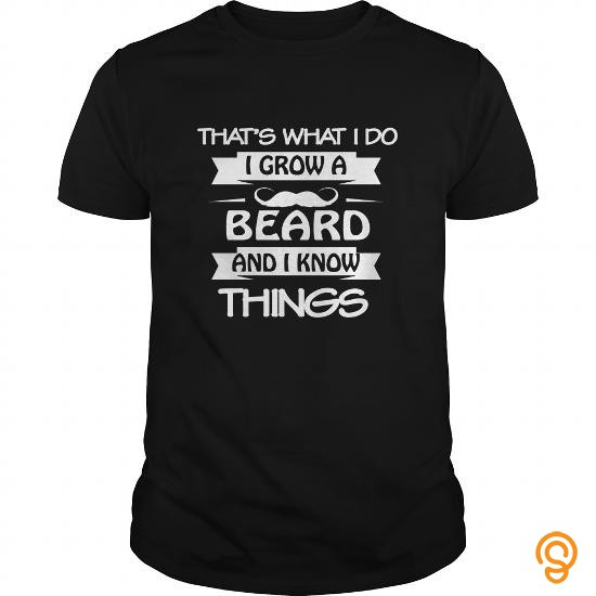 Professional Drink Lover T Shirt I Grow A Beard And I Know Things Gift T Shirts Clothing Brand