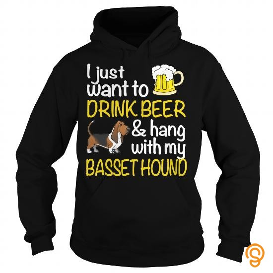 popular-drink-beer-with-my-basset-hound-tee-shirts-for-adults