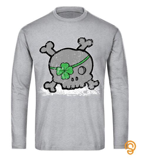 Saint Patricks Day Shirt Skull Shirt  St Patricks Day Shirts