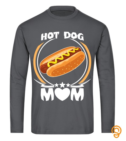 Hot Dog Mom T Shirt Funny Cute Mothers Day Gift