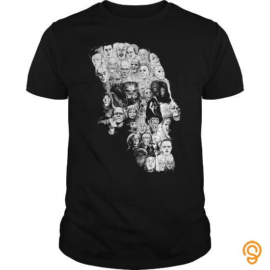 Cool Horror Skull T Shirts For Sale