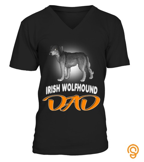 My Irish Wolfhound Dad Dog