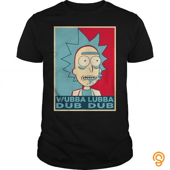 Tailored RICK SANCHEZ WUBBA LUBBA DUB DUB T Shirt Tee Shirts Quotes Inspiration Rick Sanchez Quotes