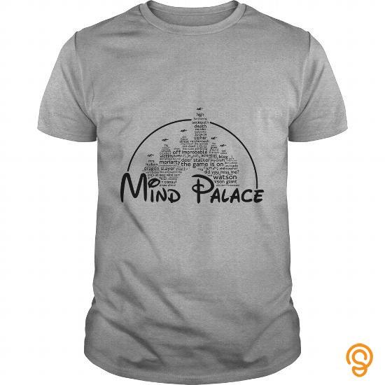 Premium Mind Palace black text TShirt T Shirts Buy Now
