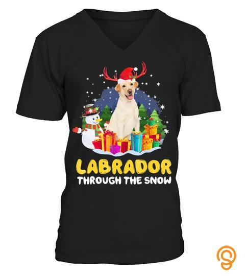 Labrador Through The Snow Pajamas Christ
