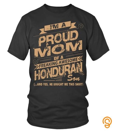 Honduran Proud Mom Son