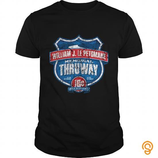 Elegant William J Lepetomane Memorial Thruway T Shirt Tee Shirts