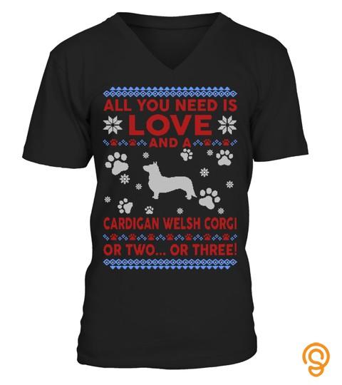Cardigan Welsh Corgi Ugly Christmas Swea