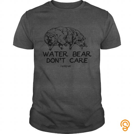 Semi-formal Science T Shirt Water Bear Don't Care Funny Tardigrade Gift T Shirts Design